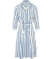 jurk met 3/4-mouwen van basler multicolour