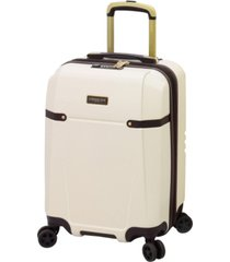 "brentwood ii 20"" expandable hardside carry-on spinner luggage"