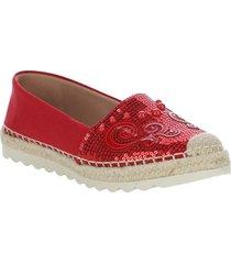 alpargata diane rojo we love shoes