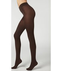 calzedonia 50 denier total comfort soft touch tights woman brown size xl