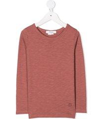 bonpoint long sleeve sweatshirt - red