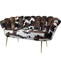 sofa krówka dwuosobowa tapicerowany lux-4