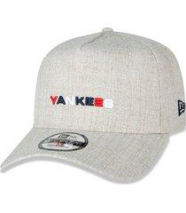 boné new era 940 new york yankees mlb bege