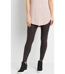 maurices womens high rise ultra soft leggings gray