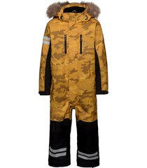 camo overall outerwear snow/ski clothing snow/ski suits & sets gul lindberg sweden