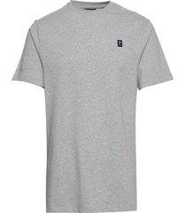 cowes t-shirt t-shirts short-sleeved grå henri lloyd
