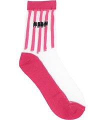 msgm short socks
