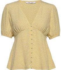 petunia ss blouse aop 10056 blouses short-sleeved samsøe samsøe