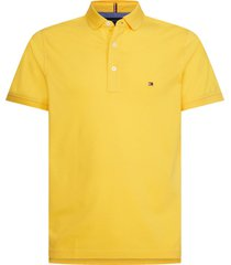 polo core tommy slim fit amarillo tommy hilfiger