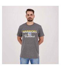 camiseta nba golden state warriors sun grafite mescla