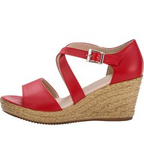 sandaletter klingel röd