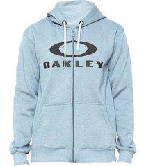moletom oakley logo f/z masculino