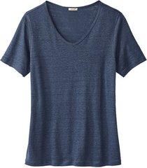 v-shirt, indigo 40