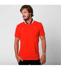 camisa polo adidas flamengo