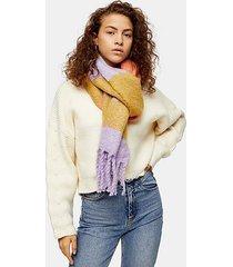 stripe scarf - multi