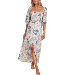 women's dreamer puff sleeve dress