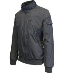 galaxy by harvic men's lightweight moto bomber jacket