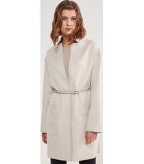 cappotto cashmere bicolor