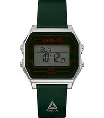 reloj verde reebok nerd digital