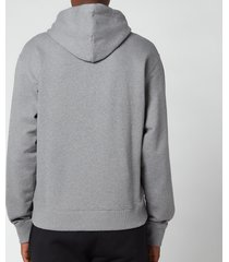kenzo men's tiger classic hooded sweatshirt - dove grey - xl