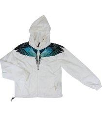 marcelo burlon polyester jacket