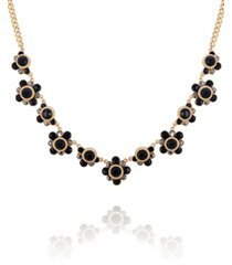 t tahari women's winter bloom statement necklace