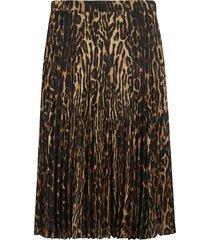 burberry leopard print skirt