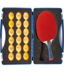 joola tour expert table tennis case set includes 2 smash rackets 18 balls