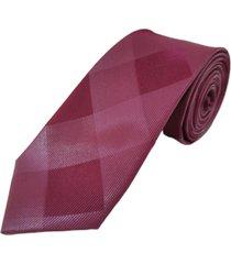 gravata concetto seda semi slim marsala - bordã´ - masculino - dafiti