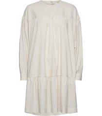 dina dress korte jurk crème wood wood