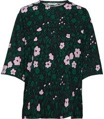 hipat pikkulempi t-shirt t-shirts & tops short-sleeved grön marimekko