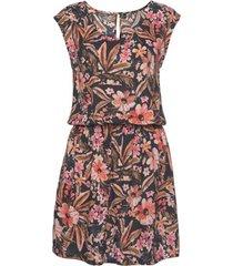 korte jurk lascana bloem zomerjurk met korte mouwen