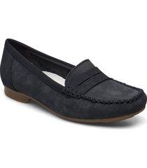 40054-14 loafers låga skor svart rieker