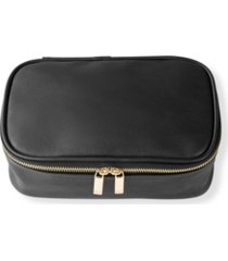 cathy's concepts large vegan leather travel jewelry case