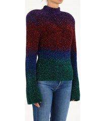 the attico multicolor kenna pullover