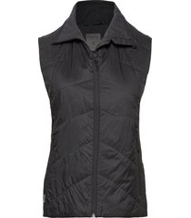 wmns helix vest vests padded vests zwart icebreaker