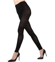 del cotton-blend tights
