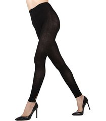 del cotton-blend tights