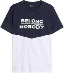 camiseta para hombre belong color azul, talla l