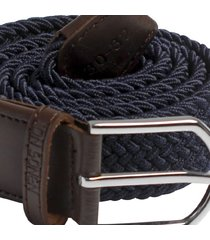 cinturón navy trenzado jon sonen