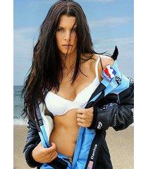 danica patrick bikini beach vertical  2.5 x 3.5 fridge magnet