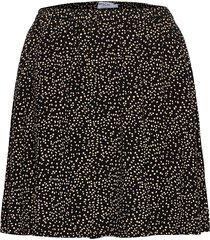 talla beach skirt aop kort kjol svart moss copenhagen