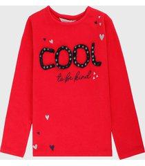 camiseta manga larga rojo-negro boboli