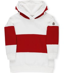 moncler color block hoodie