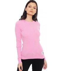 sweater slim anne rosa calvin klein