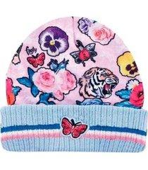 gorro rosa footy mariposas funny store