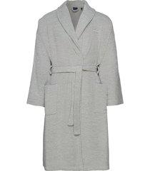 organic terry bathrobe ochtendjas badjas grijs gant