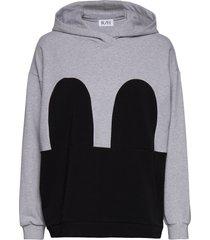 mickey hoodie hoodie trui grijs r/h studio
