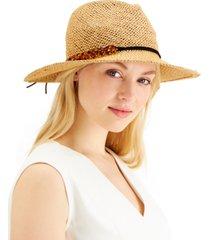 inc tortoiseshell-links open-weave panama hat, created for macy's