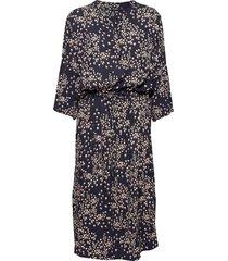 sl zaya dress knälång klänning blå soaked in luxury